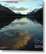 Waterton Lake Sunset Canada Metal Print