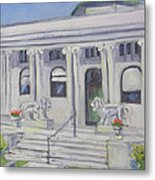 Watertown Ny-flower Memorial Library Metal Print