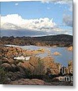 Watson Lake 2 Metal Print