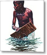 Wave Rider Metal Print by Gregory Jules