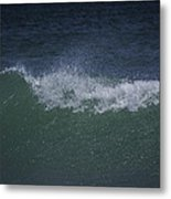 Wave Sprey On A Windy Day At Jupiter Beach Metal Print