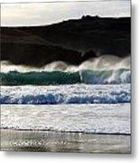 Waves At Clogher Beach Metal Print