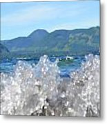 Waves Of Joy Metal Print