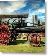 We Are Driving It Now Metal Print
