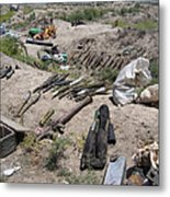 Weapons Caches Metal Print