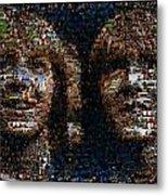 Weasley Twins Mosaic Metal Print