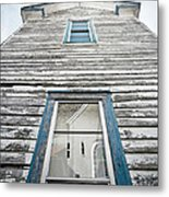 Weathered Many Storms Metal Print