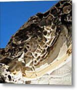 Weathered Sandstone Metal Print