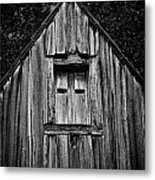 Weathered Structure - Bw Metal Print