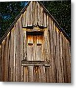 Weathered Structure Metal Print