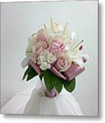 Wedding Bouquet Metal Print by Lali Partsvania