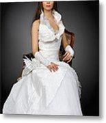 Wedding Portrait Metal Print