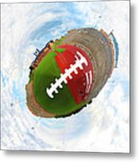 Wee Football Metal Print by Nikki Marie Smith