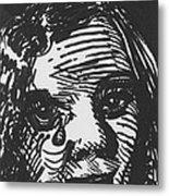 Weeping Woman Metal Print by Louis Gleason