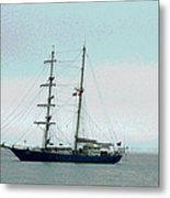 Weighing Anchor I Metal Print by Suzanne Gaff