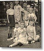 Weiner Cousins C 1953 Metal Print