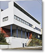 Weissenhof Settlement - Le Corbusier Building Metal Print