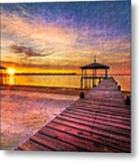 Welcome The Morning Metal Print
