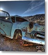 Welcome To Death Valley Metal Print by Bob Christopher