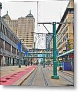 Welcome To Dt Buffalo Metal Print