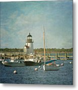 Welcome To Nantucket Metal Print