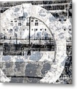 Welcome To The Moon Metal Print