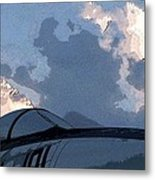 Welcome To Thunderstorm Cafe Metal Print