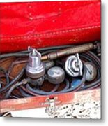 Welders Tools Metal Print