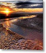 Welsh Sunset Metal Print