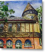 West Chester Library Metal Print