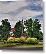 West Ferry Circle Metal Print