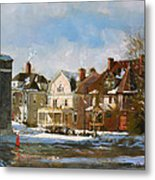 West Ferry Street Metal Print