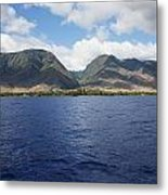West Maui Mountains Metal Print