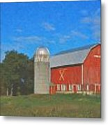 West Salem Metal Print