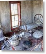 West Texas Cabin Metal Print