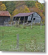 West Virginia Barn 3211 Metal Print