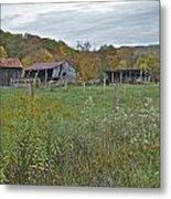 West Virginia Barn 3212 Metal Print