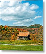 West Virginia Homestead Metal Print