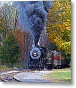 Western Maryland Steam Train Metal Print
