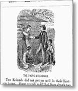 Western Missionary, 1876 Metal Print