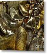 Western Saddles Metal Print