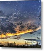 Western Skies  Metal Print