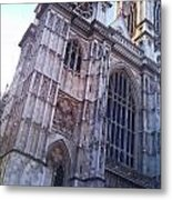 Westminster Abbey London Metal Print