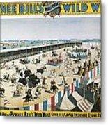 W.f.cody Poster, 1894 Metal Print