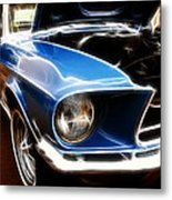 What A Shine Metal Print