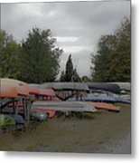What Do Canoes Dream Of Metal Print