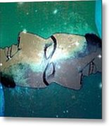 What Is Above Is Like What Is Underneath Metal Print