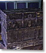 What Is In The Old Trunk Genoa Nevada Metal Print