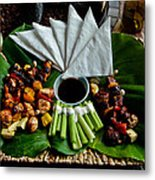What's For Supper Metal Print by Mitch Shindelbower