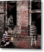 What's Goin On Metal Print by Suni Roveto